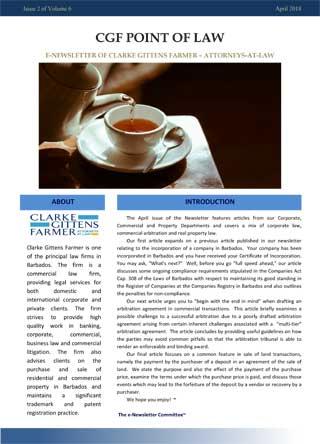 legal newsletter